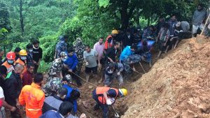 (Updated) Syangja landslide: 9 of the same family found dead