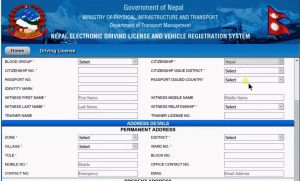 Govt halts driving licence application collection across Nepal