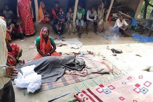 Biratnagar woman dies of labour pains after govt hospital denies admission