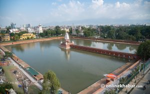 After 5+ years, Ranipokhari is full of water, and life, again