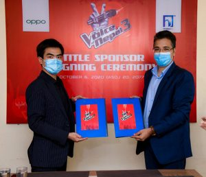 Voice of Nepal 3 will have Oppo as title sponsor