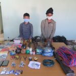 Two leaders of Biplav-led party arrested in possession of explosives