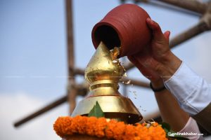 Ranipokhari's Balgopaleshwar temple gets its pinnacle back