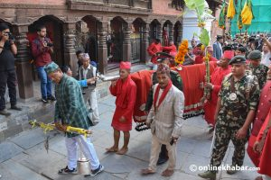 Covid-19 outbreak mars Phulpati celebrations in Kathmandu