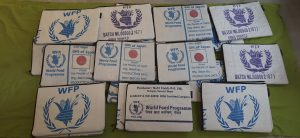 WFP won Nobel for providing food to needy. How does it manage sacks and packets once they are used?