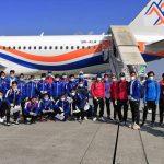 Nepal footballers leave for Bangladesh friendlies