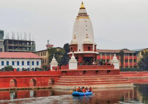 Was 'boating' on Bhaitika day a threat to Ranipokhari's future?