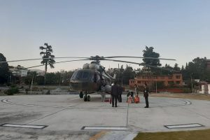 PM's residence in Baluwatar now boasts a helipad