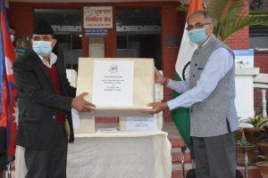 India hands over 28 ICU ventilators to Nepal