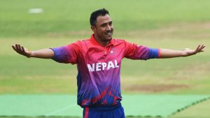 Paras Khadka nominated for ICC Men's Associate Player of the Decade