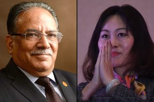 Chinese envoy calls on NCP chair Dahal
