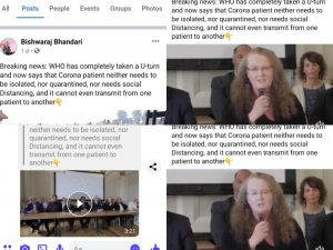 World Doctors Alliance's video on Covid-19, viral on social media in Nepal, is misleading