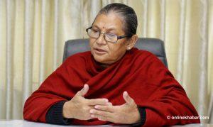 NCP Dahal-Nepal faction's Bagmati PP elects Ashta Laxmi Shakya its leader