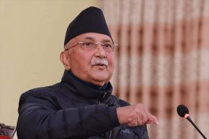 Without consulting Madhav K Nepal, Oli removes UML officials, appoints new ones