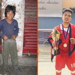 Raju Adhikari: From picking up litter to picking up medals