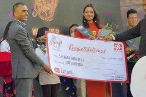 Shivana Shrestha wins The Strings season 1