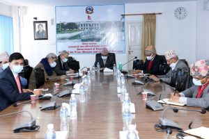 DPM Pokharel consults ministers about importing Covid-19 vaccines
