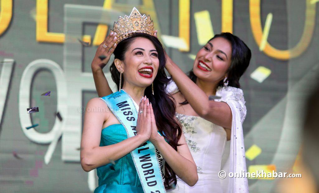 Namrata Shrestha crowned Miss Nepal 2020