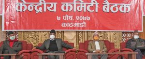 NCP's Dahal faction appoints Madhav Kumar Nepal party chair to replace Oli