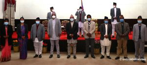 Oli reshuffles cabinet to incorporate ex-Maoist leaders