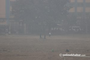 Govt urges kids and elders in 'polluted' Kathmandu not to go out