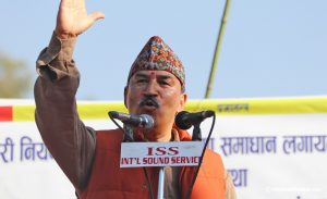 Kamal Thapa demands all-party conference to reinstate monarchy