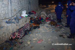 NGO 'rescues' 40 homeless from Kathmandu streets