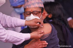Covid-19 vaccination begins in Nepal