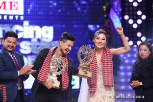 Sumi Moktan, Viju Parki win Dancing with the Stars Nepal title
