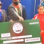 Nepali athlete wins gold medal in Dhaka Marathon
