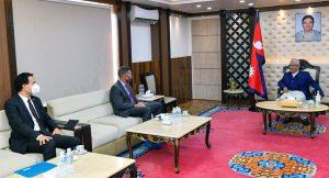 US envoy informs PM Oli of Biden's priorities