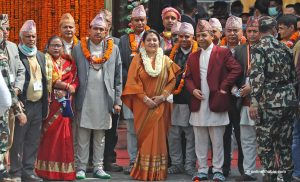 President inaugurates new jalahari at Pashupati hours before court order against it