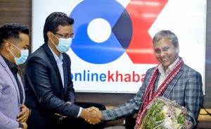 Shiva Gaunle appointed Onlinekhabar Editor-in-Chief