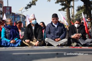 NCP Dahal-Nepal faction announces general strike for Thursday