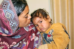 Siraha infant, missing for 2 days, found in India