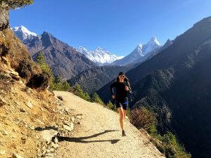 Jill Wheatley overcomes brain injury and blindness as she runs and climbs Nepal's mountains