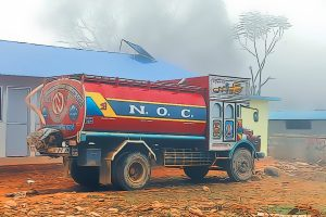 Fuel supply halted in Bagmati as tanker drivers launch strike for Covid-19 vaccines