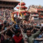 19 injured in Bhaktapur's Biska Jatra accidents and clashes