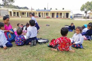 At the heart of the metropolis, this Chitwan school is running miserably