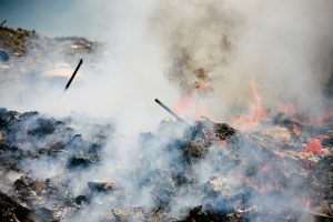 Open burning of waste is doing big harm to the environment, but Nepal is little aware