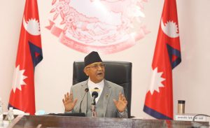 PM Oli to test House's confidence in him on May 10; next course still unclear