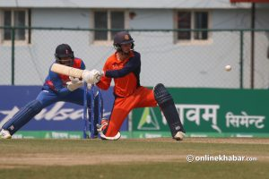 Tri-nation Series: Nepal lose thriller to the Netherlands