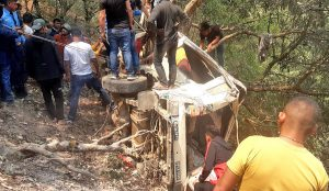 (Updated) Pyuthan SUV accident death toll hits 5