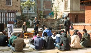 This group of culture enthusiasts is reviving storytelling tradition in Kathmandu