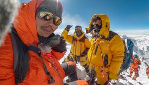 They spent years serving Everest climbers. This time, they climbed the highest peak on their own