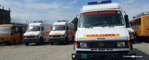 Sudurpaschim has a few ambulance drivers and they are contracting Covid-19