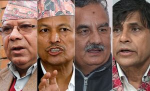 To unify UML and stay in power, Oli withdraws suspension of Madhav K Nepal, 3 others
