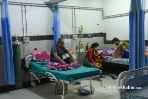Nepal Covid-19 tally: 1,963 PCR and 805 antigen cases in 24 hours, death toll up by 44