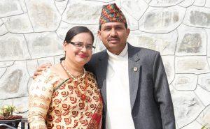 Minister Dhakal, wife test positive for coronavirus