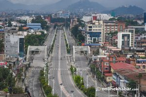 Kathmandu lockdown extended until May 12